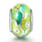 Abstract Painting Craft 925 Sterling Silver Charm for Bracelet and Necklace