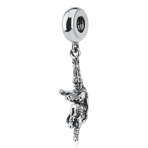 925 Sterling Silver Hero Figure Charm for Bracelet and Necklace