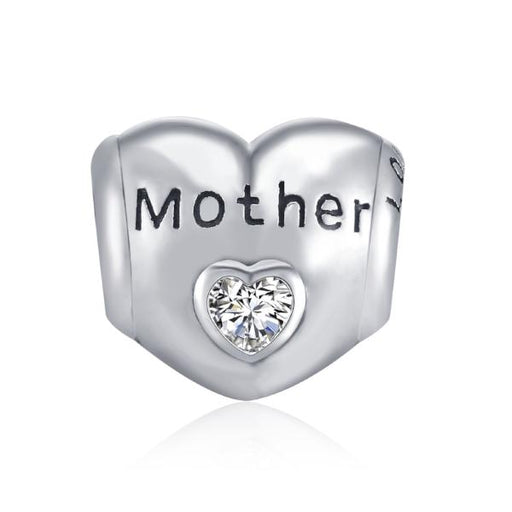 Sterling Silver Mother Love Charm Fit for Bracelet and Necklace