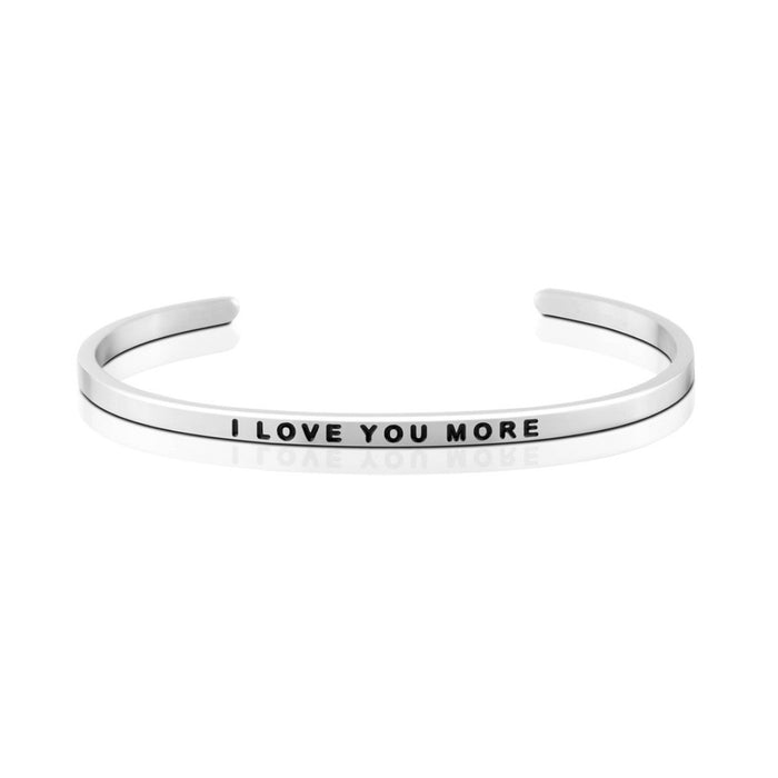 Love Series Customized Engraved Personalized Bangle Bracelet