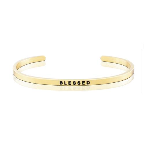 Happiness Series Customized Engraved Personalized Bangle Bracelet