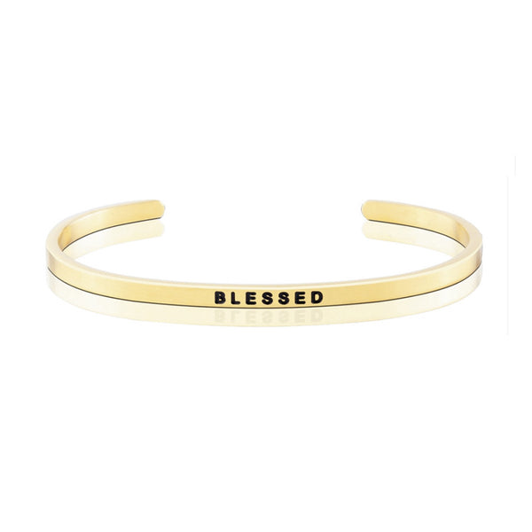 HAPPINESS SERIES CUSTOMISED ENGRAVED PERSONALIZED BANGLE BRACELET