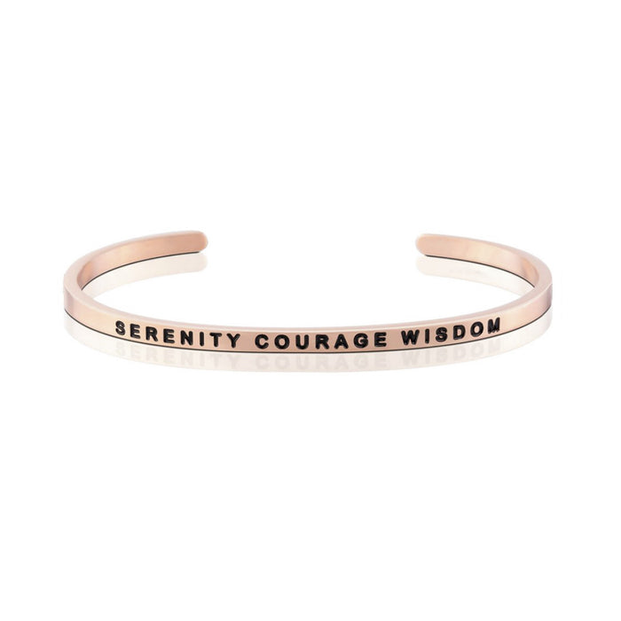 STRENGTH SERIES CUSTOMIZED ENGRAVED PERSONALIZED BANGLE BRACELET