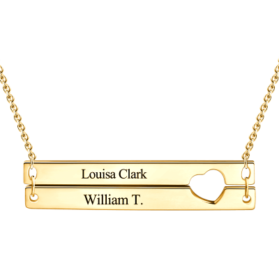 Write name on Jewellery Custom engraved personalized gold name necklace