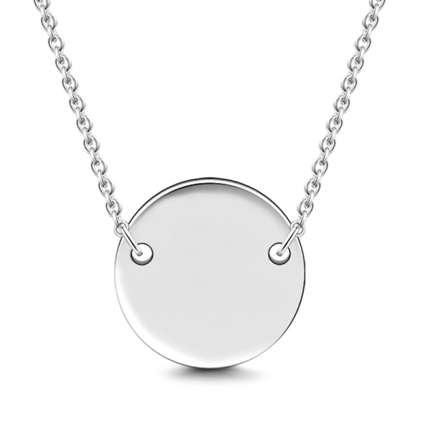 Sterling Silver 'One In A Million' infinity Pendant Necklace