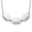 "925 Sterling Silver Oval Personalized Engravable Necklace-Adjustable 16""-20"""