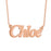 "925 Sterling Silver Personalized Name Necklace Adjustable 16""-20"""