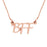 "925 Sterling Silver Personalized Best Friend Necklace Adjustable 16""-20"""