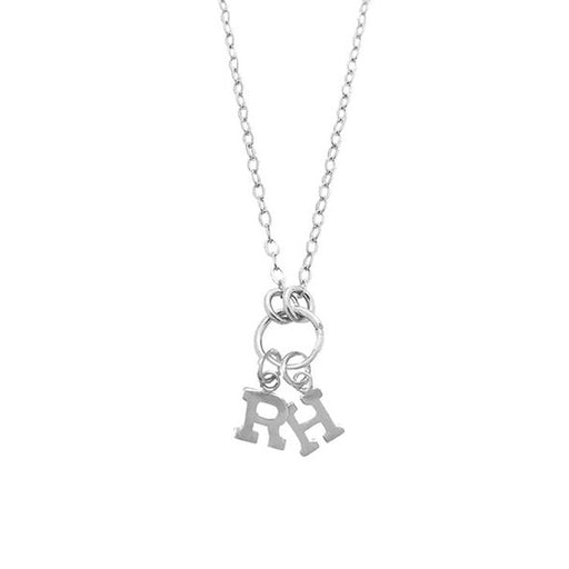 "925 Sterling Silver Personalized Alphabet City Necklace with Ring Adjustable 16""-20"""