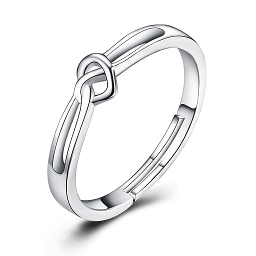 Copy of You Hold My Heart-925 Sterling Silver Heart Simple Ring For Women