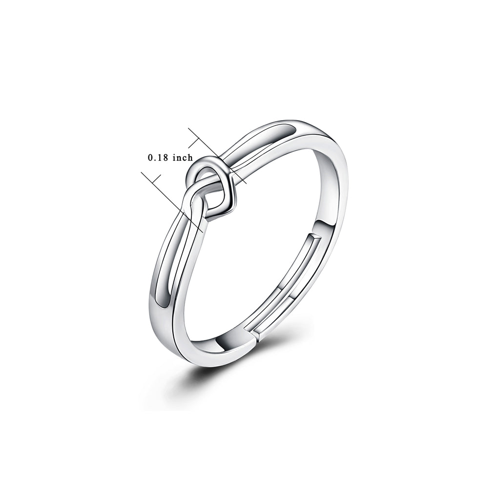 You Hold My Heart-925 Sterling Silver Heart Simple Ring For Women