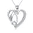 925 Sterling Silver Penguin Charm Pendant with Chain Jewelry Necklace