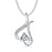925 Sterling Silver Special Shape Fine Jewels Lucky Necklace