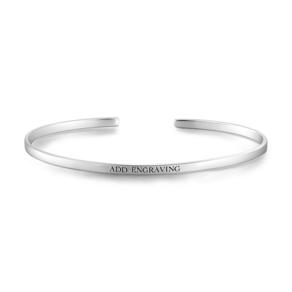 ENGRAVABLE BANGLE-SMALL