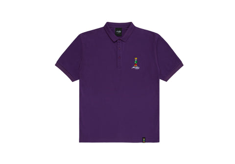 Spliffy Polo - Purple