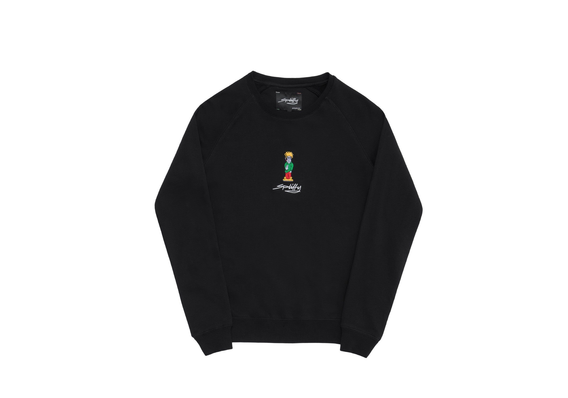 Spliffy Sweater - Black