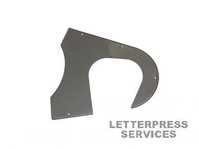 GT3008 Back Plate For Fly Wheel Guard
