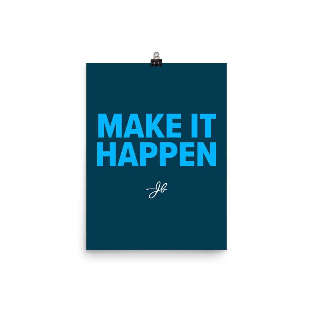 Make It Happen - Blue