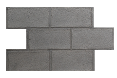 CINDER BLOCK - MODERN WASHED GREY - SAMPLE