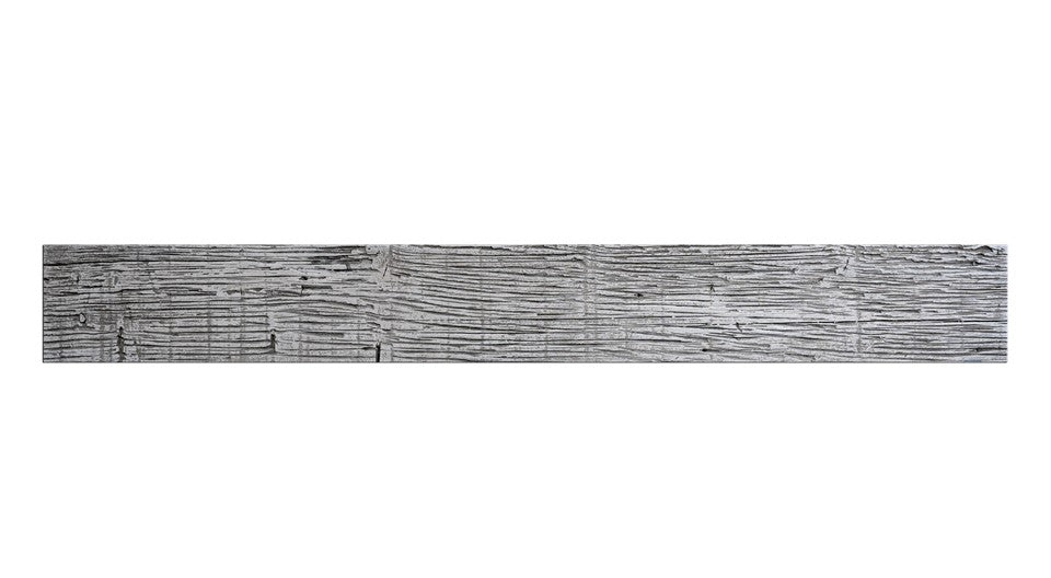 "FAUX BARN WOOD - 6""X48"" PANEL - WHITE WASH"