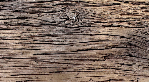 FAUX BARN WOOD - WORN LEATHER - SAMPLE