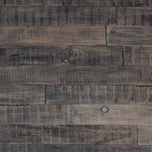 DISTRESSED WOOD WALL - BLACK-ISH
