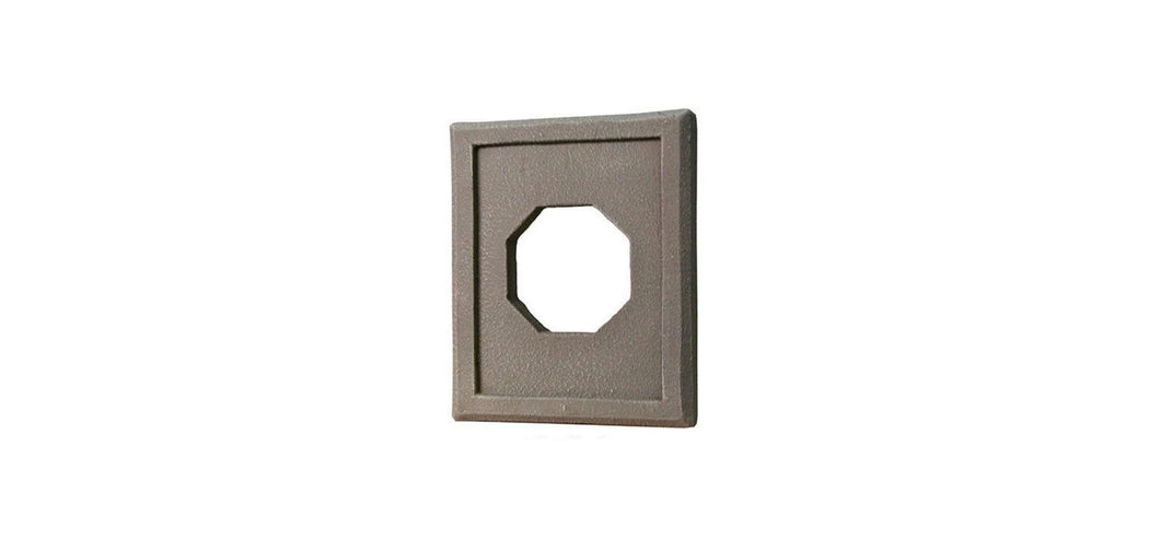 QUALITY STONE - FIXTURE TRIM - GREY BROWN