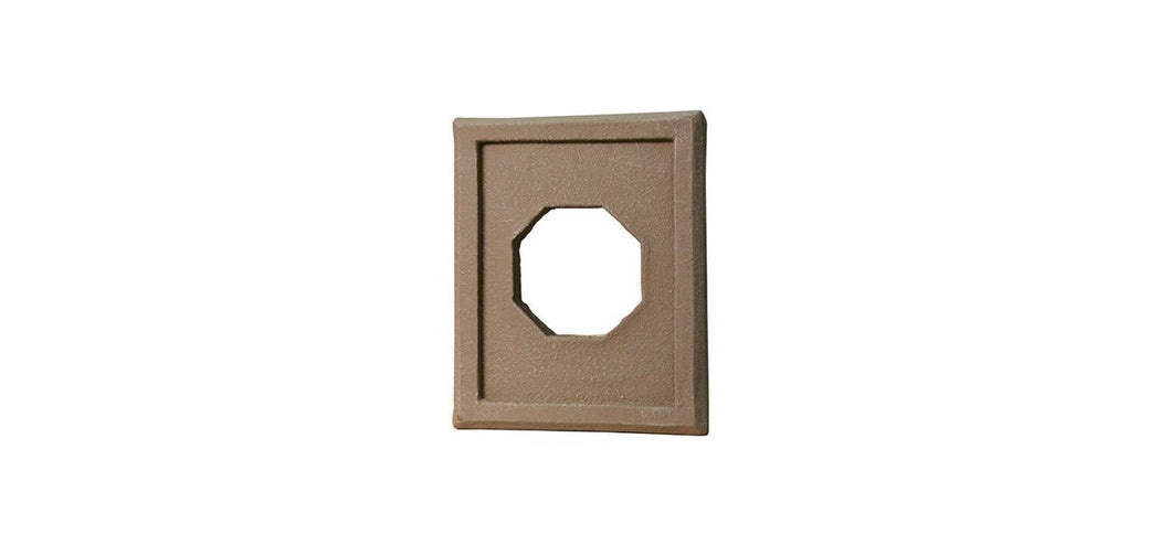 QUALITY STONE - FIXTURE TRIM - LIGHT BROWN