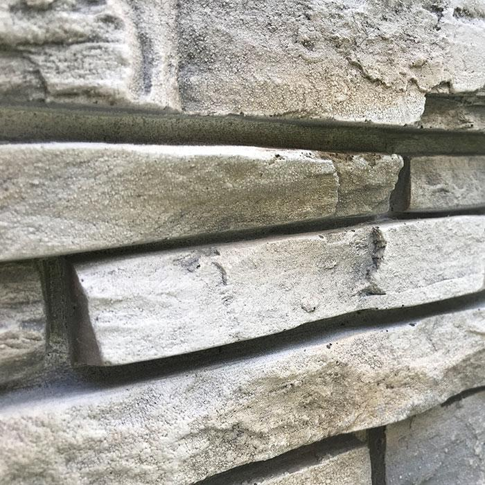 "STACKED STONE - 6X48"" PANEL - LIMESTONE"