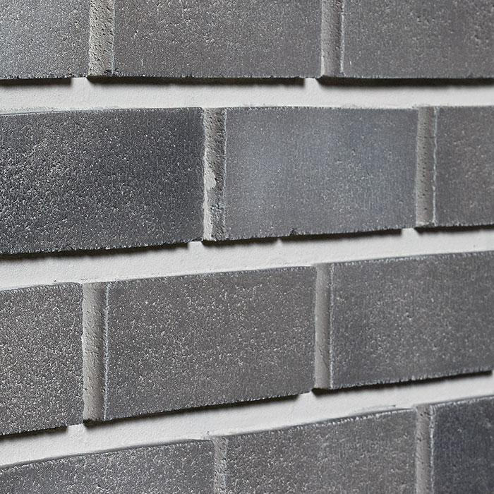 "MODERN BRICK - 11X40.5"" RIGHT CORNER - SHADES OF GREY"