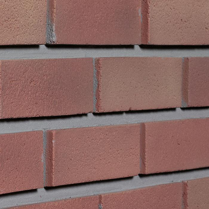 "MODERN BRICK - 11X40.5"" RIGHT CORNER - TERRA COTTA"