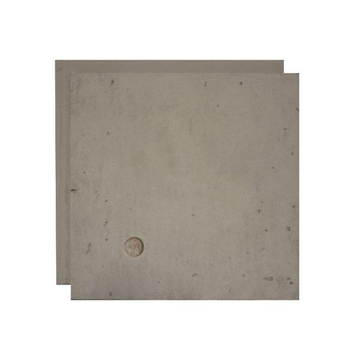 URBAN CONCRETE - WASHED GREY (W/CIRCLE) - SAMPLE