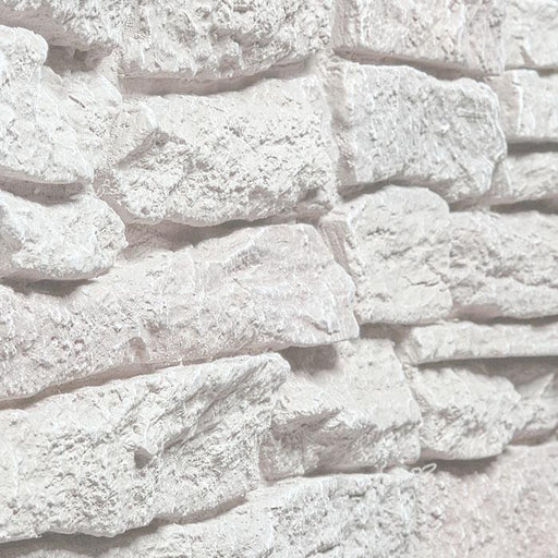 "RIDGE STONE - 11X46"" PANEL - SIMPLY WHITE"