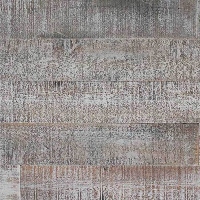 DISTRESSED WOOD WALL - 10SQFT BOX - WHITE-ISH