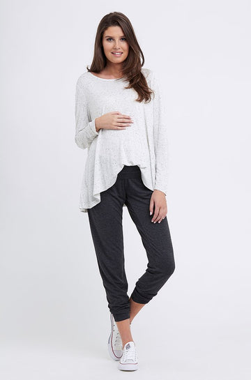 Ripe Speckle Knit Swing Top