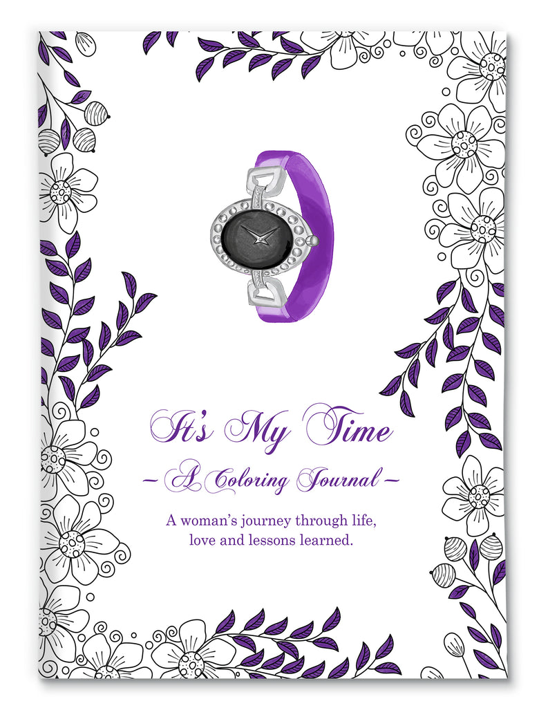 It's My Time Coloring Journal