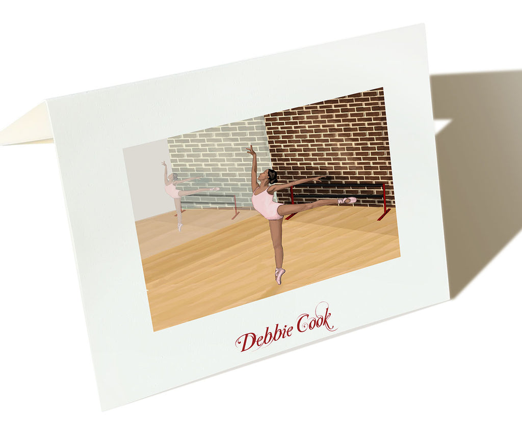 The Dancer -  Set of 25 Personalized Note Cards