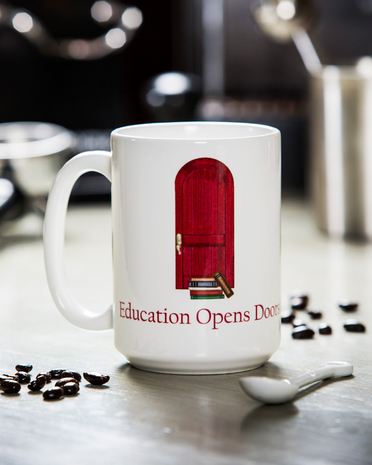 Education Opens Doors Mug