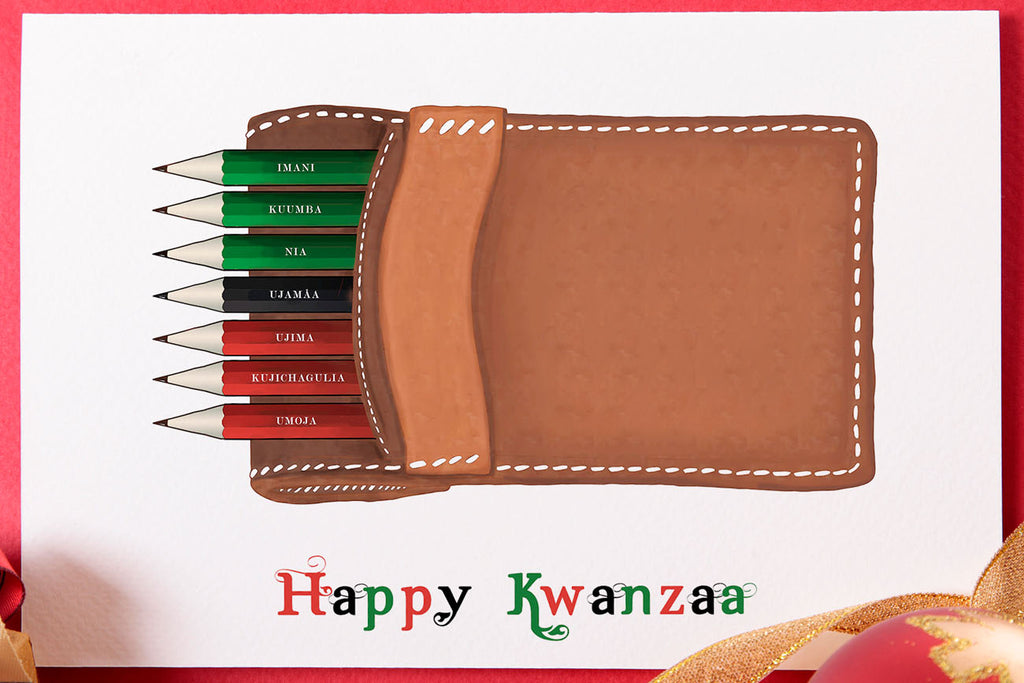 Happy Kwanzaa - The Pencil Set