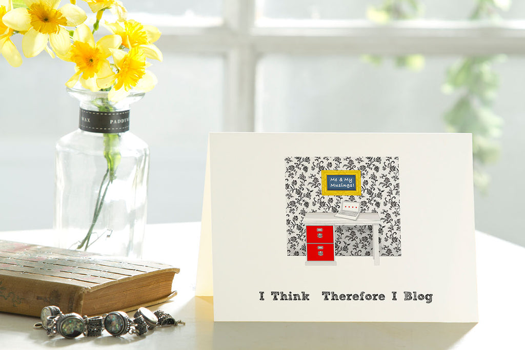 I Think, Therefore I Blog - Set of 6 cards