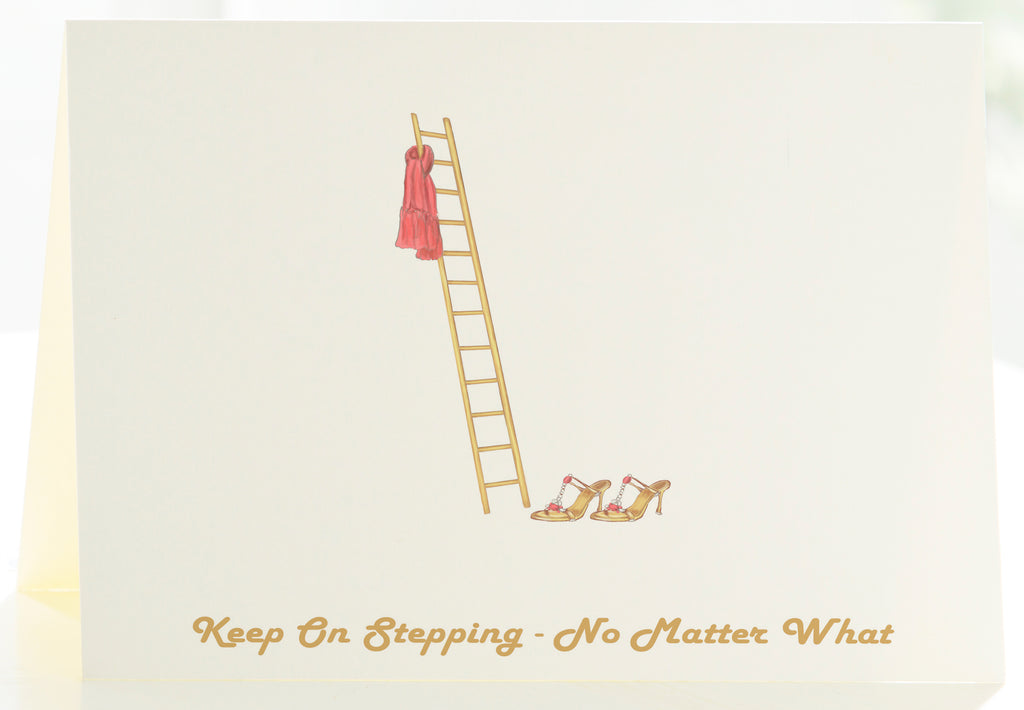 Keep On Stepping, No Matter What