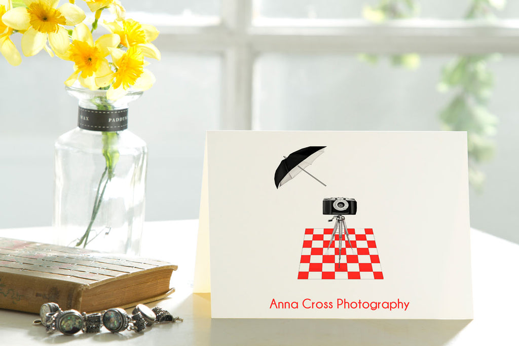The Photographer - Set of 50 Personalized Note Cards