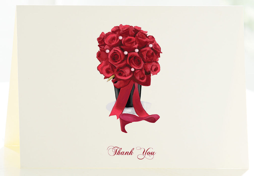 Thank You - The Red Bouquet