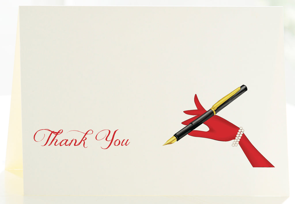 Thank You - The Montblanc Pen