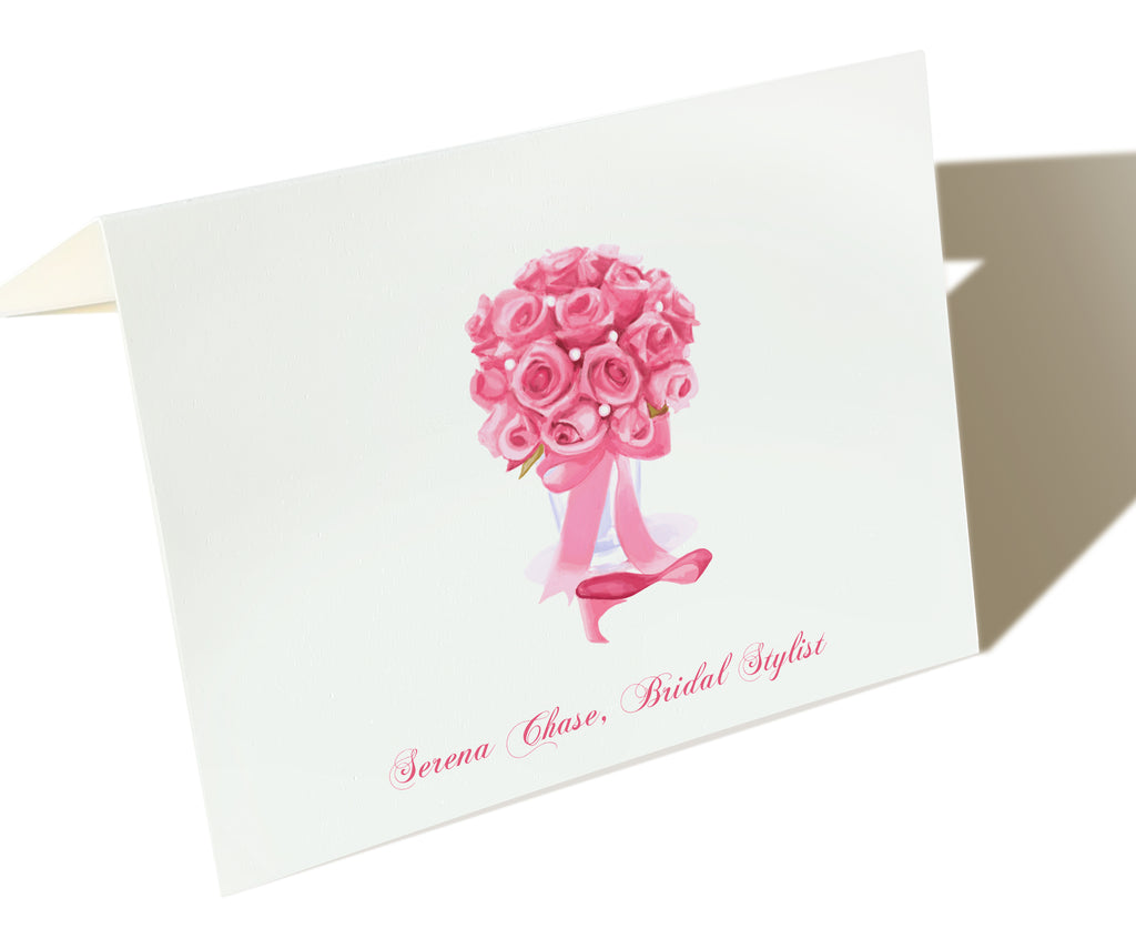 The Wedding Industry Pro - Set of 50 Personalized Note Cards