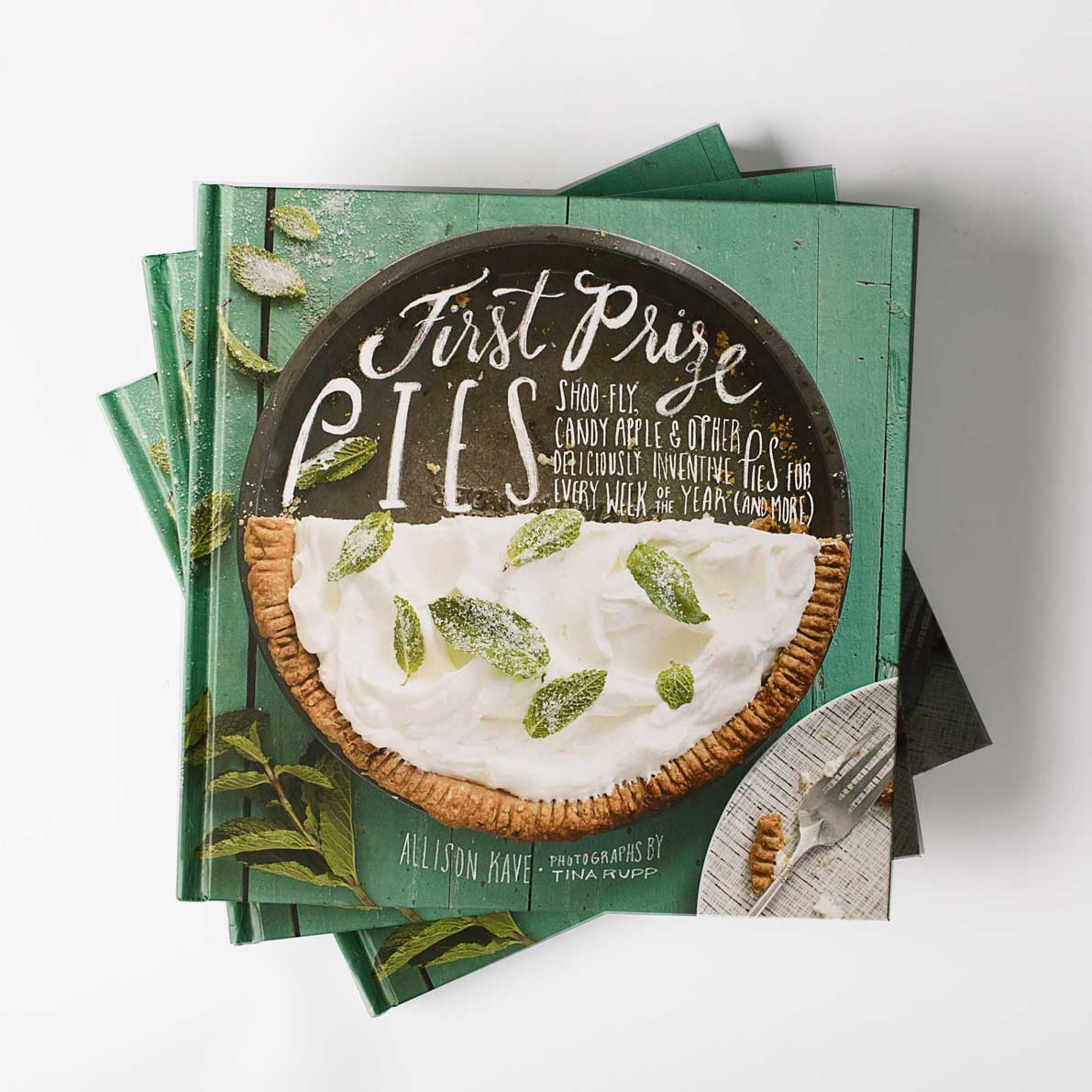 Signed First Prize Pies Cookbook