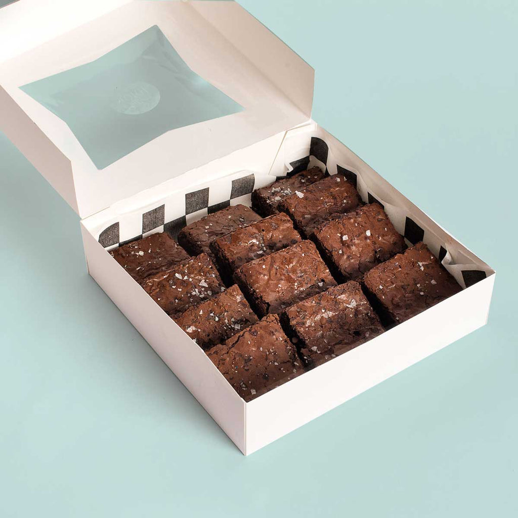 1 dozen Triple Chocolate Brownies