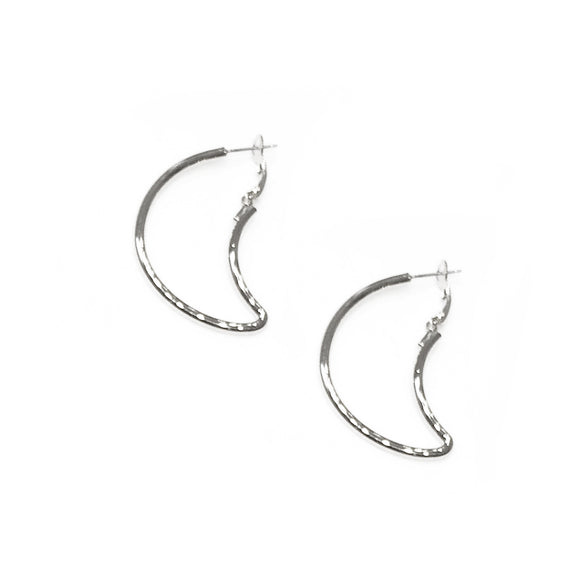 Small Moon Earrings, earring, Tuleste, Tuleste