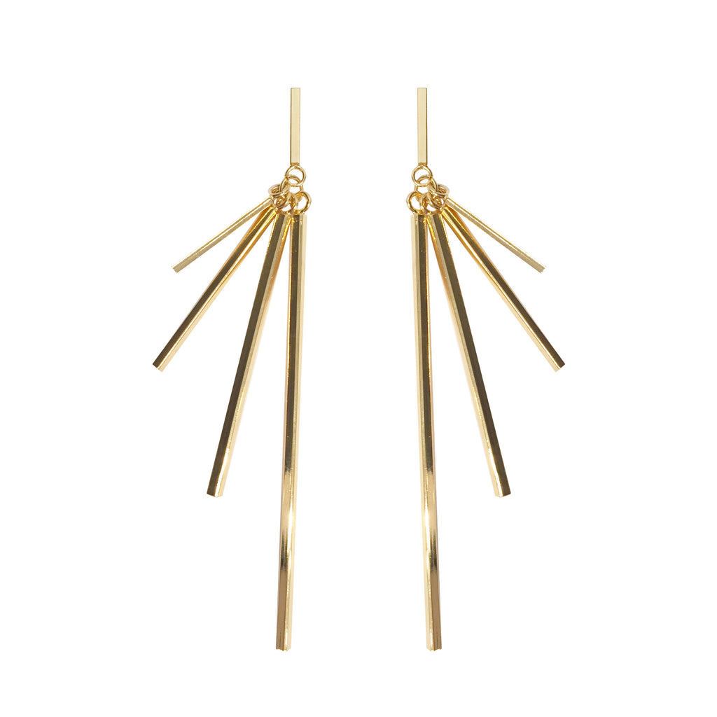 Flare Bar Earrings, earring, Tuleste, Tuleste