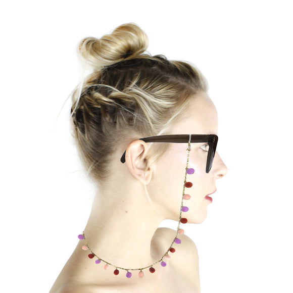 Pom Pom Glasses Chain